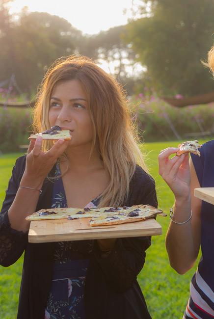 Pizza au feu de bois Biarritz événements