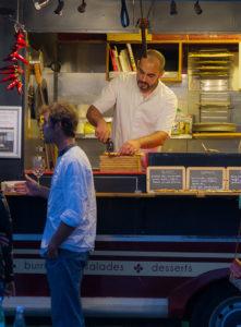 service traiteur Pizza bois à Biarritz